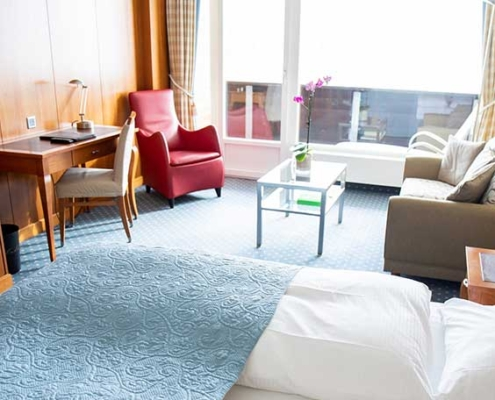 Kulm Hotel & Alpine Spa Zimmer