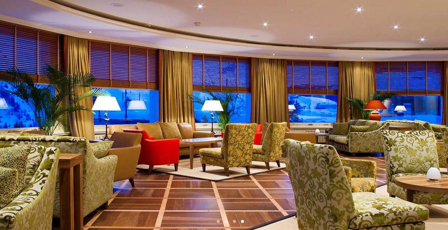 Kulm Hotel - Panoramahalle