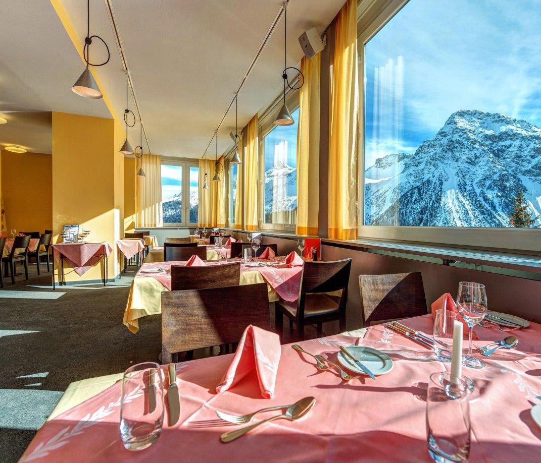 Hotel Hohenfels Speisesaal